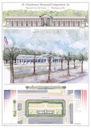 Entry by James McCrery for the Eisenhower Memorial Counterproposal Competition.
