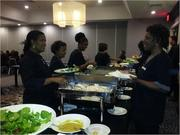 Healthy options are a crowd pleaser at Liaison Capitol Hill's associate luncheons throughout the year.