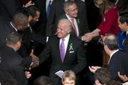 Vice President Joe Biden arrives for the State of the Union address.