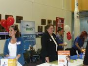 Vendors at Orbital Science Corp.'s annual Benefits & Wellness Fair.