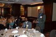 Jim Dyke of McGuireWoods, a 2012 honoree, spoke to the group about the importance of networking with your fellow honorees.