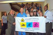 Suburban Hospital in Bethesda hosts a Healthy Destinations challenge for employees each summer.
