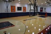 The practice court for the Washington Wizards and the Washington Mystics in the Verizon Center in D.C.