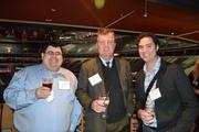 Joshua Erlich, from left, Hank Dearden from 3D Technologies, Ltd., and Pat Frank at the BizMixer at the Verizon Center.