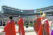 Pope Benedict XVI's trip to D.C. was the first papal visit to nation's capital since 1979, when then-Pope John Paul II visited during the Carter administration.