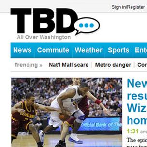 TBD.com's hyper-local reporting will focus on arts and entertainment now.