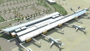 Wichita Mid-Continent Airport terminal proposal