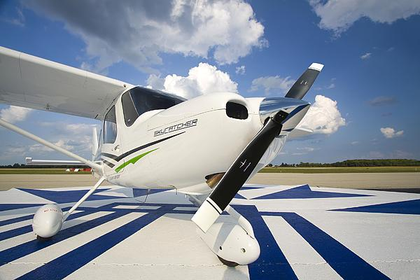 Cessna Aircraft Co. on Wednesday announced that it sold three Model 162 Skycatchers to a European flight school last week at the EAA AirVenture show in Oshkosh, Wis.
