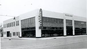 GLMV Architecture has purchased the 1525 E. Douglas building that opened in 1931 as J. Arch Butts' Packard car dealership. This is how the building looked in 1931.