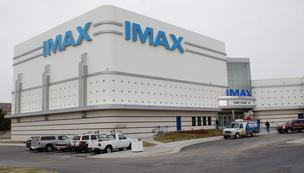 Warren Theatres' west Wichita IMAX opened Friday.