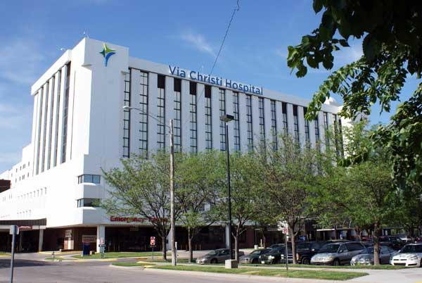 Via Christi Health is starting a $1.1 million expansion of the emergency department at Via Christi Hospital on St. Francis.