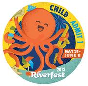 This year, Riverfest will sell $3 buttons for children ages 6 to 12, in addition to the $5 adult buttons.