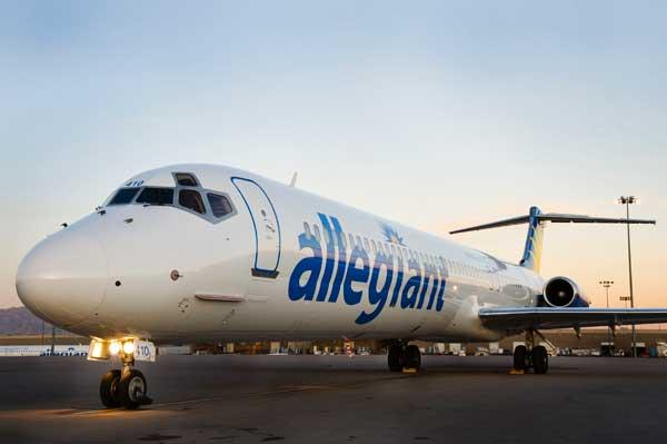 Allegiant Air will become the second U.S. airline to charge passengers to place carry-on bags in overhead storage bins.