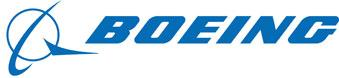 Boeing's logo — the stylized part with the jetplane circling the planet —was drawn in the air by 787 Dreamliner during a test flight overnight.