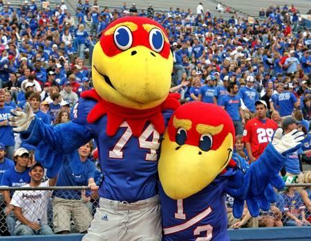 The University of Kansas plays the University of Kentucky for the national championship on Monday night.