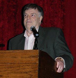 Bill Warran spoke at Tuesday'sWichita Independent Business Association luncheon.