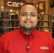 Nate Sukraw is retail general manager for the new Wichita Cabela's.
