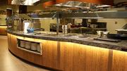 One of several serving stations in The Kitchen Buffet.