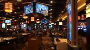 Some of the table game area in the new casino.