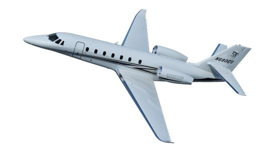 The upgraded Cessna Citation Sovereign will feature advanced avionics and new winglets.