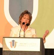 Debbie Gann, the 2013 Chamber chair,said partnerships are key to ensuring economic development efforts prove fruitful, including those among businesses, governments and educational institutions.