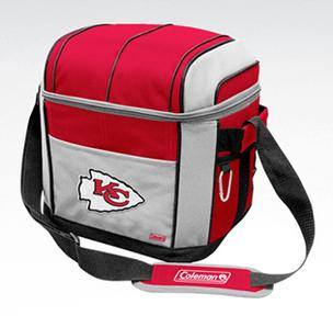 Jarden's TLG8 initiative includes co-branded Coleman/NFL products like this.