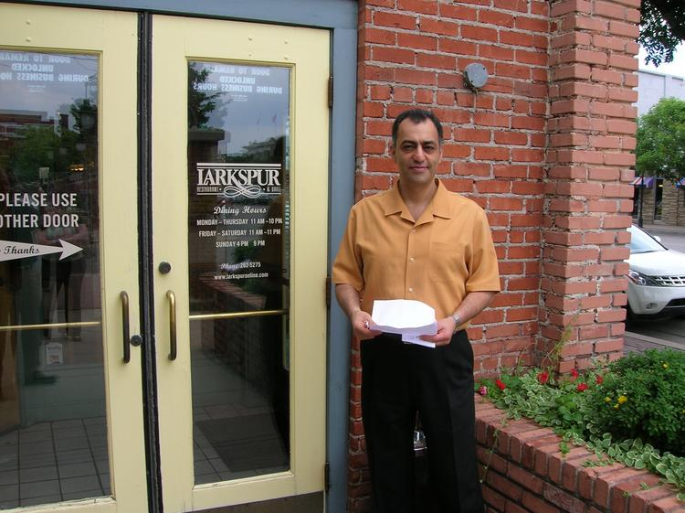 Ty Issa is the owner of Larkspur in Old Town.
