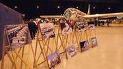 A static display shows some of the history of the B-29 program in Wichita.
