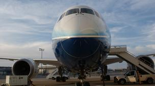 Boeing (NYSE: BA) delivered its first 787 Dreamliner last year — three years behind its original schedule.