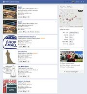 """Clothing stores nearby If you have multiple locations, you want them all to be on Facebook, so you have a better chance of being """"nearby."""""""
