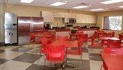 The new Freddy's corporate office has an employee break room designed to look like a Freddy's.
