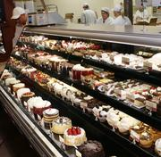 The Fresh Market includes an upscale dessert department.