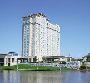 The Hyatt Regency Wichita has begun the third phase of its renovation, overhauling its main-floor ballrooms to a more contemporary look.