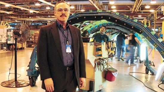 Wichita native Jeff Turner has led Spirit AeroSystems since it was spun off of Boeing in 2005.
