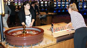 The Kansas Star Casino produced $14.75 million in gambling revenue last month, according to a Kansas Lottery report.