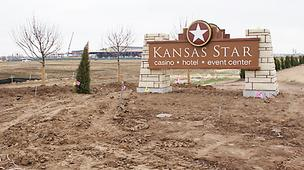 The Kansas Star Casino is on the Kansas Turnpike near Mulvane.