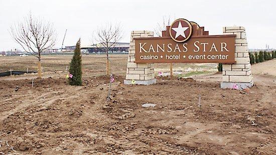 The Kansas Star Casino is on the Kansas Turnpike near Mulvane.