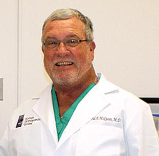 Dr. David McQueen, a prominent Wichita orthopedic surgeon, died Monday.