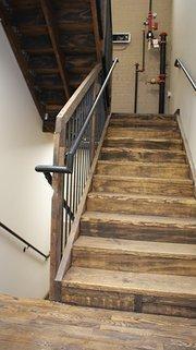 An internal stairwell.
