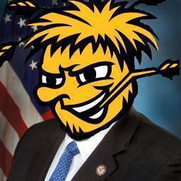Rep. Mike Pompeo changed his Twitter avatar this week to represent the Shockers.