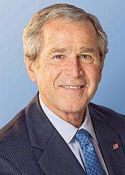 Former president George W. Bush is George P. Bush's uncle.