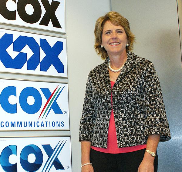 Janet Barnard, Wichita-based general manager for Cox Communications' Central Region, will become chief operating officer of Manheim, a used car marketplace owned by Cox Enterprises.