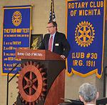 USD 259's Allison details for Rotarians the district's literacy-improvement strategies
