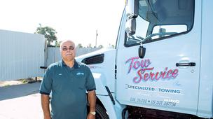 Mark Ysidro, owner of Tow Service Inc., says towing companies aren't very happy with a compromise they struck with the city of Wichita regarding police impounds, but that it's the