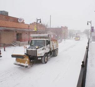 Winter weather can be challenging for businesses.