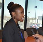 Clay Barton Scholarship awarded to Wichita East senior Kiah Duggins