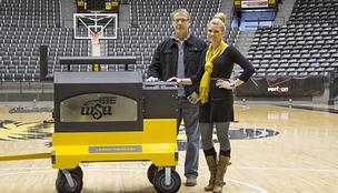 Wichita State University's athletic department has purchased a custom-made Yoder Smoker pellet cooker from All Things Barbecue.