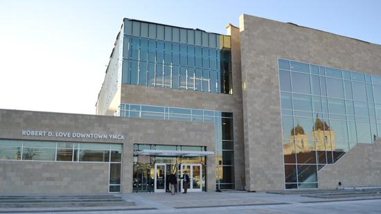 The Greater Wichita YMCA's new downtown branch is named after Robert D. Love.