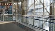 A lap pool at the new YMCA.