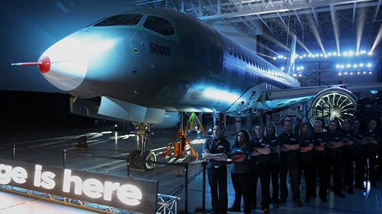 Bombardier's CSeries made its first flight today.